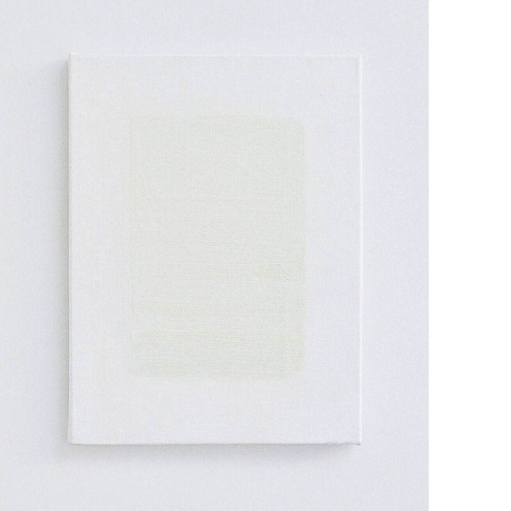 VANDERPUT - 'zonder titel', 2014, oil and pigment on canvas, 40x30cm