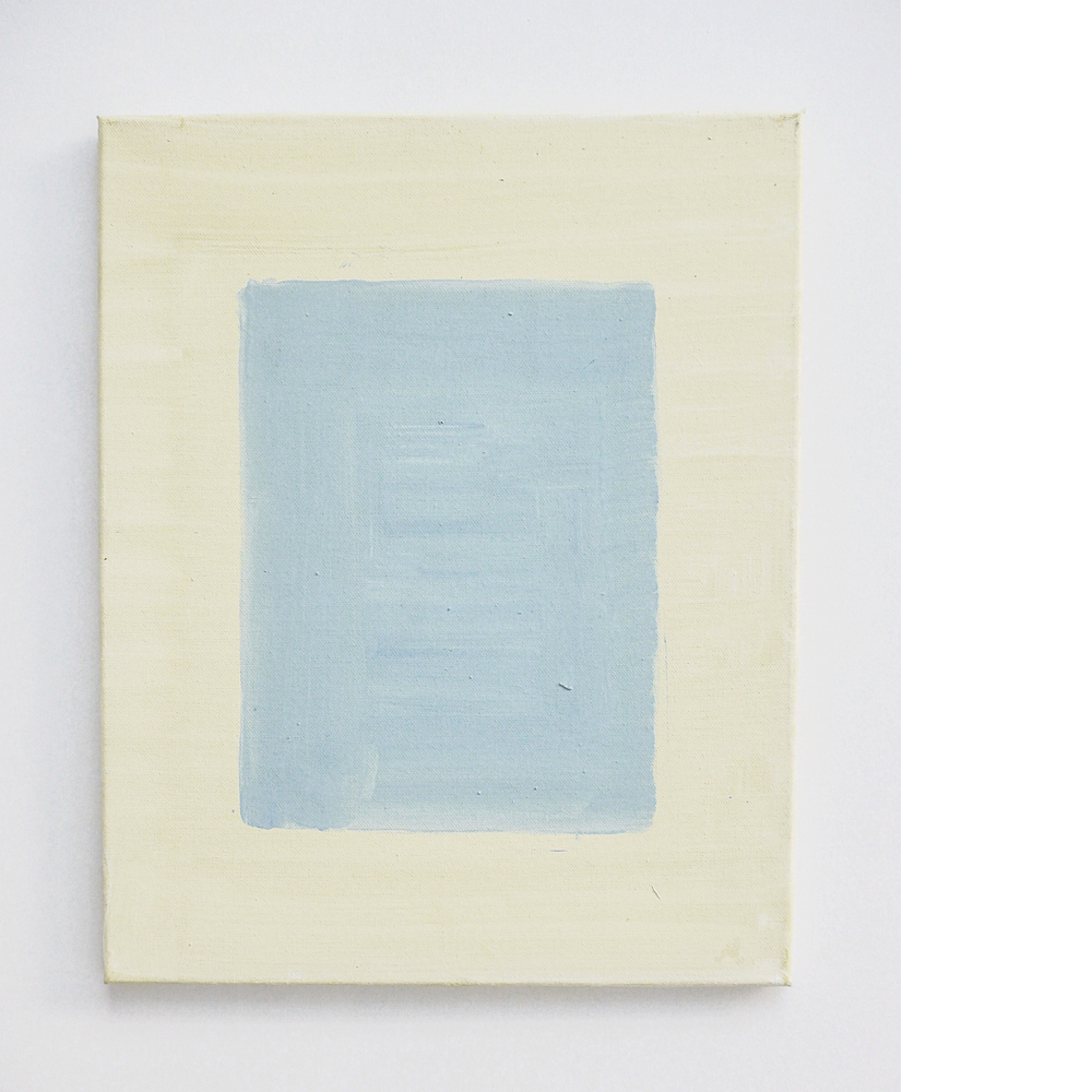 VANDERPUT - 'zonder titel', 2014, oil and pigment on canvas, 50x40cm