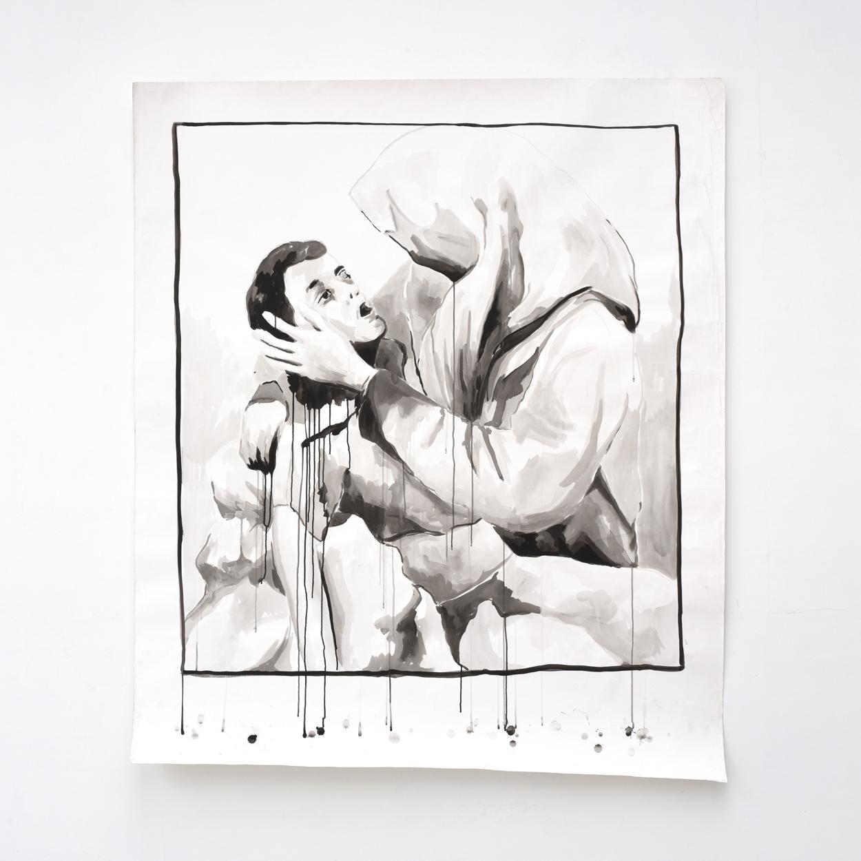 VERSCHEURE - Pieta#1_2010_172x150cm