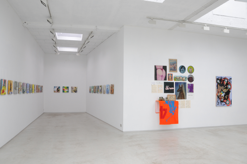 VANDERVEKEN - view of the exhibition 'Absurd man does not cling to certainties', 2014, Kusseneers gallery, Brussels