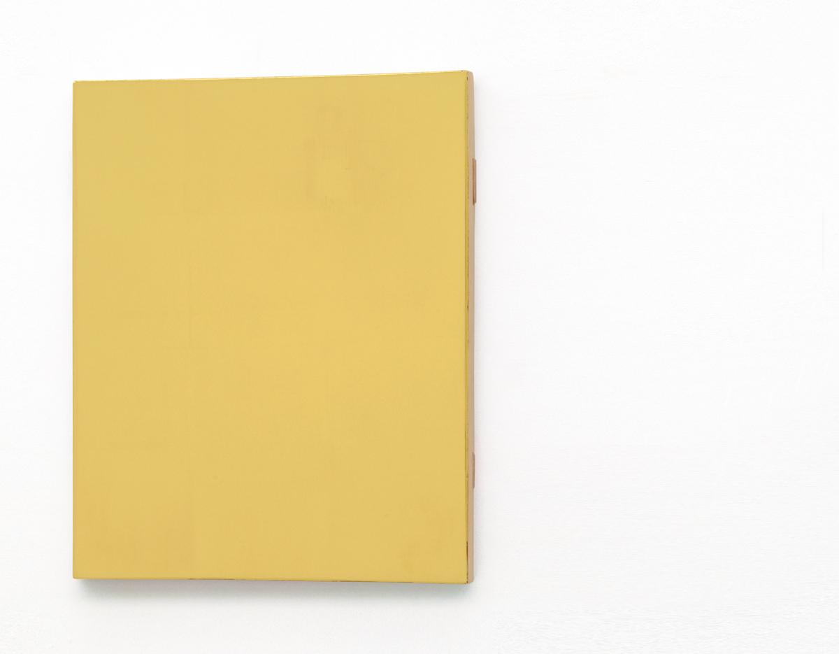 KOZAKIS - Gold_Ducate_double_polish_gold_23,5carat_on_wood_44x33,8cm