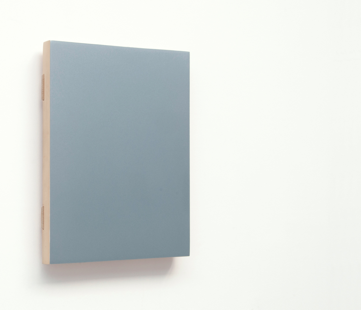 KOZAKIS - Audi_Blau_Q1.LYSJ, 2007, car_paint_on_wood_36,7x27