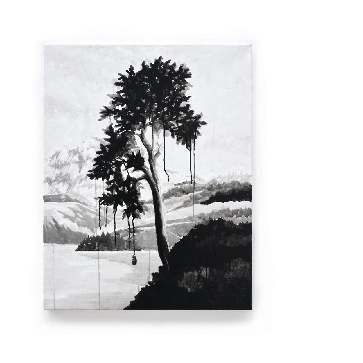 VERSCHEURE - Trees#65_2018_90x70cm