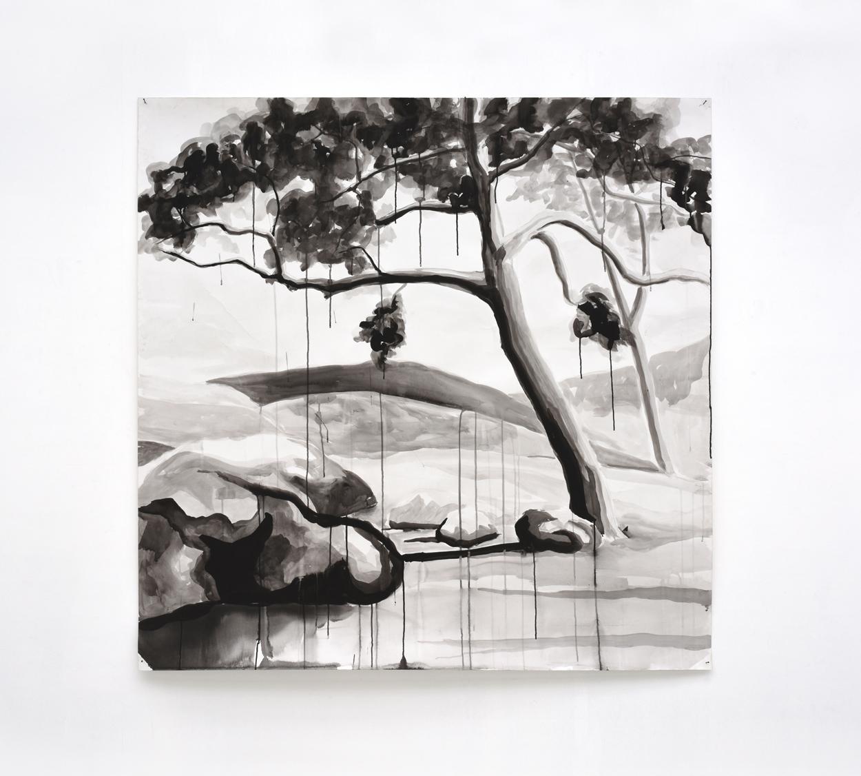 VERSCHEURE - Trees#3_2010_150x150cm