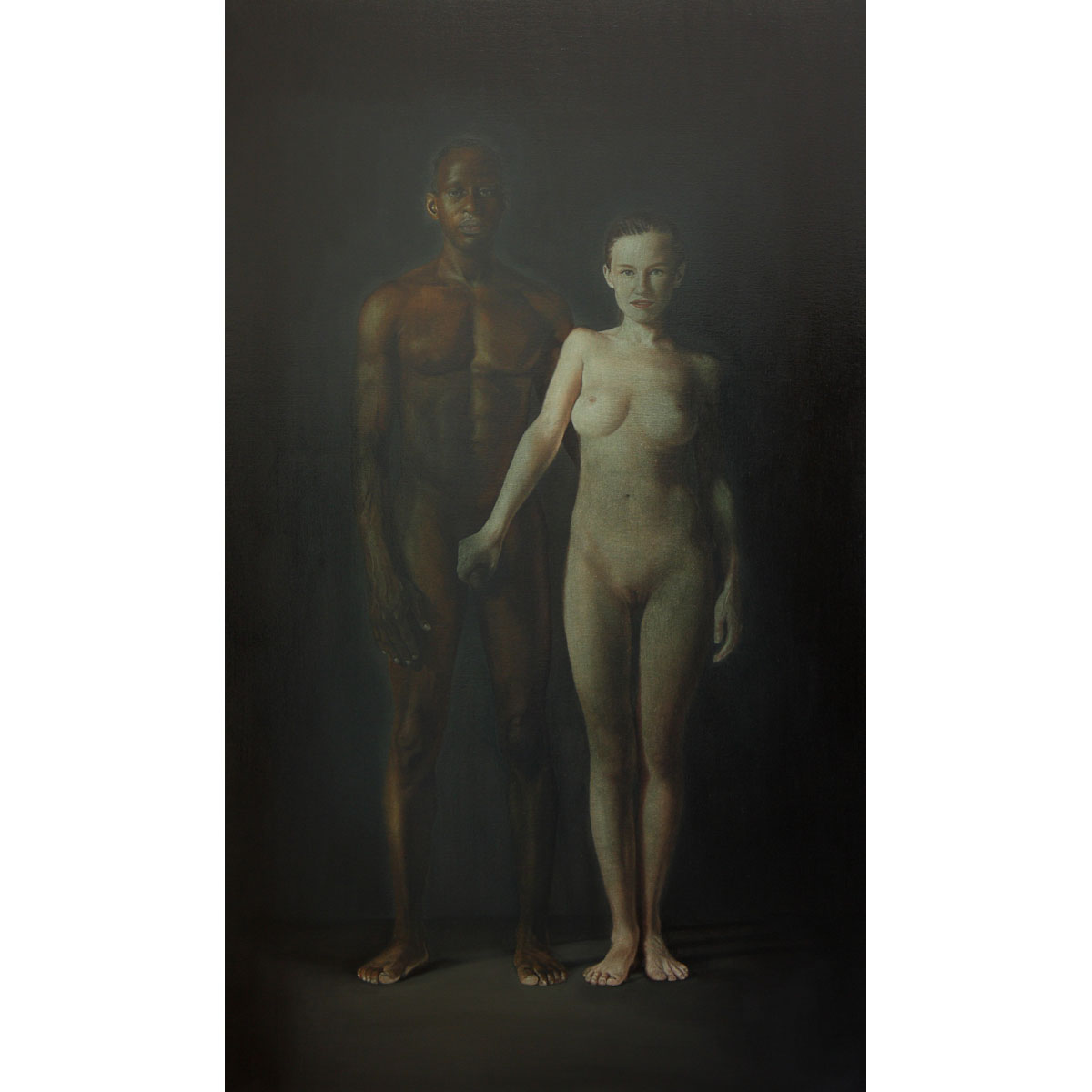 'Life of faith'  2018 Oil on canvas 230 x 130 cm